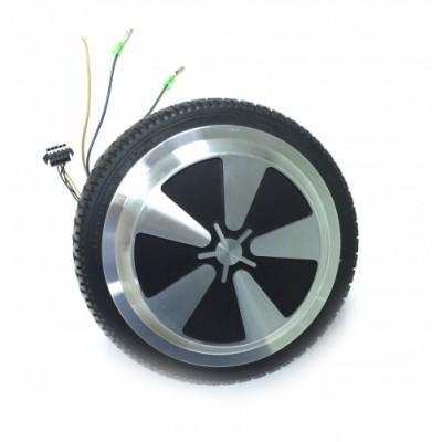 Замена мотор-колеса на гироскутере (работа)